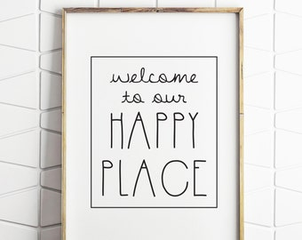 Welcome Wall Decor welcome wall sign | etsy