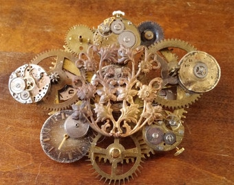 Steampunk Hairclip