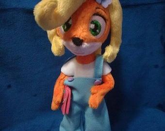 Coco Bandicoot custom plush commission