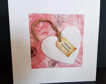 Someone special. Just to say. Thank you card. Happy birthday. Happy birthday card. Greetings card. Gift card. For her.