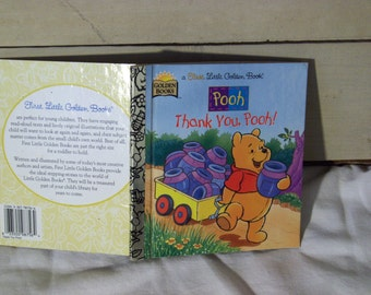 SALE! Thank you, Pooh! a First Little Golden Book, by Ronnie Randall, 1997