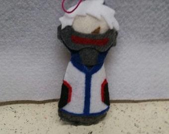 Soldier: 76 Overwatch Winter Wonderland Ornament/Charm