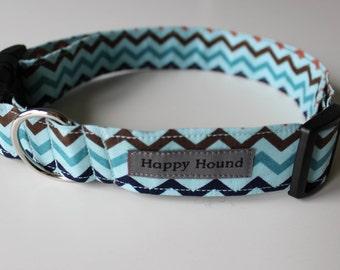 Sawyer Dog Collar - Blue