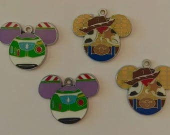 Disneys Woody and Buzz Charms