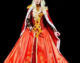 Fancy dress Ball dress Cosplay The original suit Red Queen
