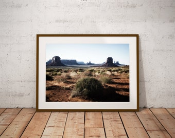 Monument Valley,Shadows,Utah Art,Large Wall Art Print,Room Decor,Dorm Wall Art,Cowboy Art,Fine Art,Wild West,Desert,Navaho Art,Photography,