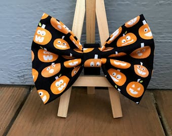 Pumpkin Dog Bow tie