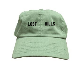 Custom Lost Hills Dad Hat, Yeezy Season 5 Inspired Dad Hat, Kanye West Style Low Profile Baseball Cap, Tumblr Hat, Yeezy Dad Hats Caps