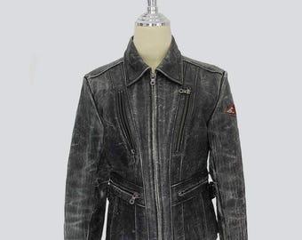 Vintage HARLEY DAVIDSON women's leather jacket // Vintage harley davidson // harley davidson // Leather jacket // 80s
