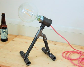 "Kit lamp ""Monster Bob"" plumbing fitting - cable & free bulb"