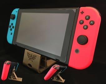 Nintendo Switch Adjustable Charge & Play Dock Stand - Zelda Theme