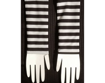 Striped Wristwarmer - Pair