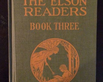 1920 Teacher's Edition The Elson Readers Book Three