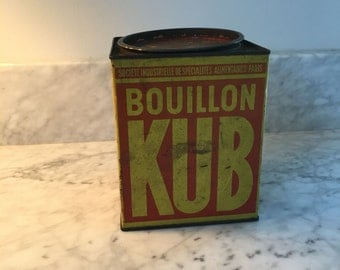 Vintage French Canister - excellent condition