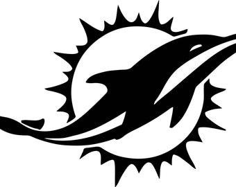 Miami Dolphins Vinyl Decal