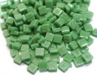 8mm Micro Mosaic Craft Tiles - Spearmint Green Matte