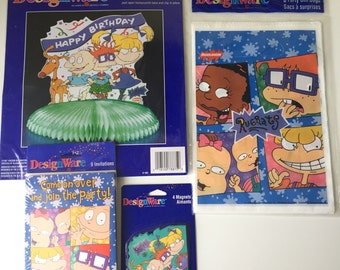 1996 Nickelodeon Rugrats American Greetings DesignWare party supplies birthday party NEW IN PACKAGE