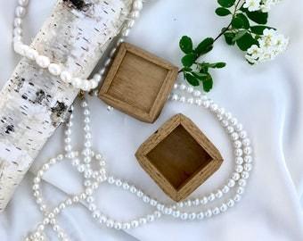 Handmade Sassafrass keepsake ring box