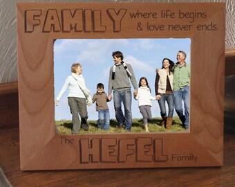 Family Love Life Frame