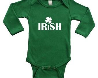 Long Sleeve Bodysuit - Irish