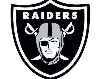 Oakland Raiders SVG Dxf Eps PnG digital logo, vector design
