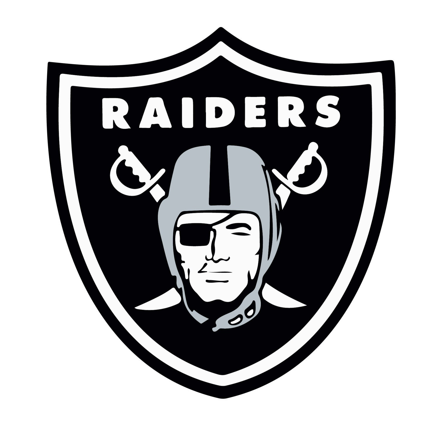 Oakland Raiders Svg Dxf Eps Png Digital Logo Vector