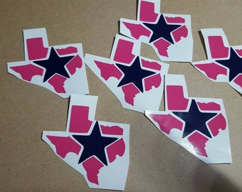 Dallas Cowboys decals, football, Cowboys, decal, laptop decal, cup decal, window decal, car decal