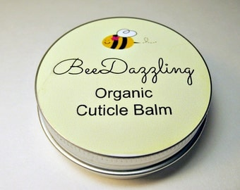 Organic Cuticle Balm, Cuticle Cream, Cuticle Salve, Cuticle Oil, Organic Cuticle Cream, Nail Care, Organic Skin Care, Hand Cream, Nail Cream