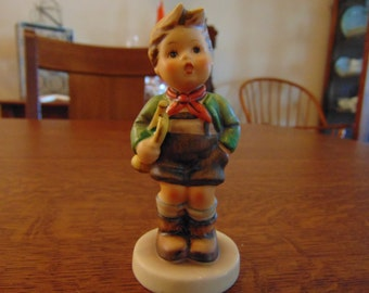 Hummel Figurine of boy with Trumpet (free shipping)