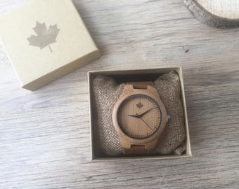 DAKOTA series - Classic Gents Wooden watches from TheWoodCraft.