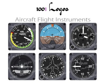 32 high definition pictures Aircraft Flight instrument for private use clipart, training and commercial - aviation training - N123