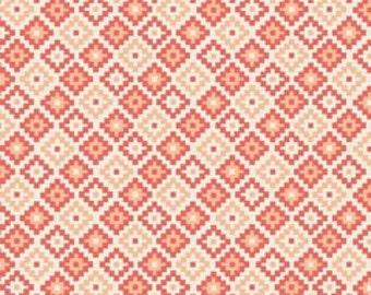 Riley Blake Woodland Geometric Coral