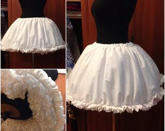 Puella Magi Madoka Magica Kaname Madoka Cosplay Costume Custom Made Petticoat