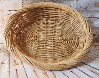Woven Oval Tray