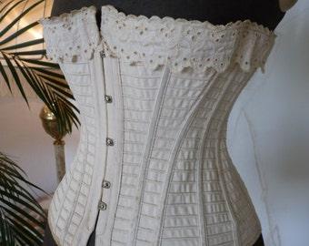 1895 Corset, antique Corset, Victorian Corset, corset ancienne, antikes Korsett