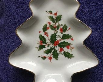 CHRISTMAS TREE Candy/Trinket DISH