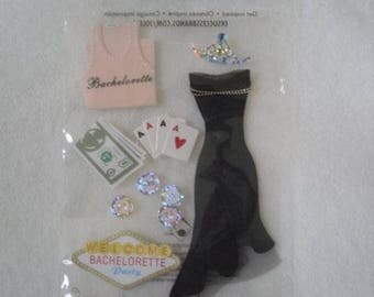 Jolee's Boutique Dimensional Stickers | Bachelorette Party