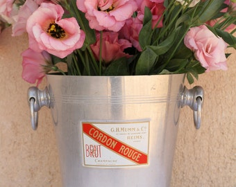 French champagne bucket - GH Mumm & Co