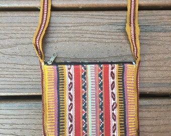 Small Woven Andean Bag