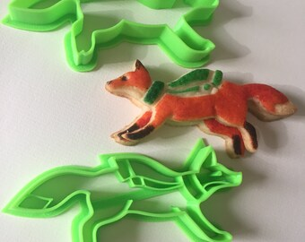 Winter Fox Cookie Cutter Set