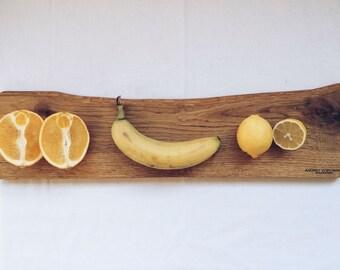 Oak Cutting Board Live Edge Разделочная Доска Из Дуба