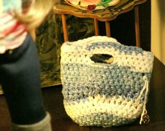 Anchor Crocheted purse
