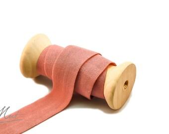 3m - fold rubber MATT - 20 mm - dark PINK dark (€1.16 / m)