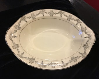 Taylor Smith Taylor Platinum Brocade vegetable bowl