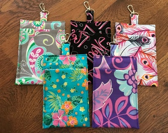 Fabric cell phone holders