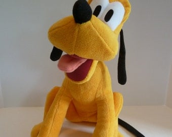 Pluto Disney Stuffed Plush//Disney Classic Character/Pluto the Dog/Disney Babies/Nursery Decor/Kid's room//Disney babies/Sensational Six
