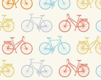 KNIT, Bike It, Just for Fun Collection, Birch Fabrics, Organic Knit Fabric, Jersey Knit