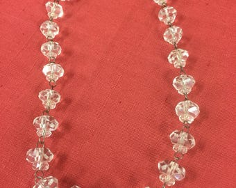 Austrian crystal necklet