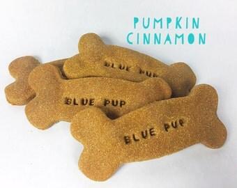 Pumpkin Cinnamon Gourmet Dog Treat Bones