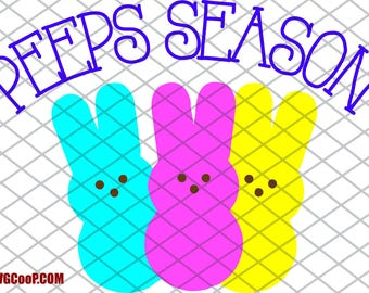 Peeps Season - SVG file